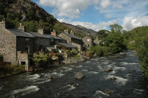 Beddgelert, North Wales by A Roger Davies on Flickr (cc)